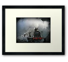 Smoke Screen Framed Print