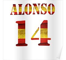 Alonso - 14 Poster