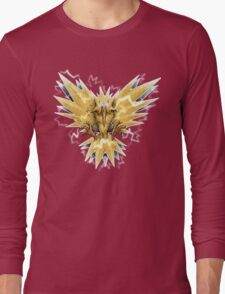 Zapdos HIGH VOLTAGE Edition Long Sleeve T-Shirt