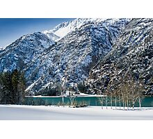 Achensee Lake During Winter Photographic Print