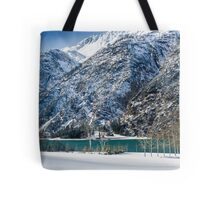 Achensee Lake During Winter Tote Bag