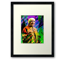 Queen Of Comedy Framed Print