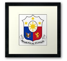 Philippines Coat of Arms Framed Print