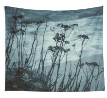 Midnight Dreams of the Sea Wall Tapestry