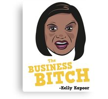 The Business Bitch - Kelly Kapoor Canvas Print