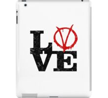 LoVe V for Vendetta iPad Case/Skin