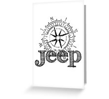 Women's Jeep Compass T-shirt Greeting Card