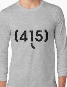 Area Code 415 California Long Sleeve T-Shirt