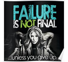 Failure Is Not Final Poster