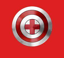 CAPTAIN ENGLAND - Captain America inspired English shield Unisex T-Shirt