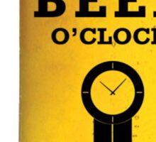 Beer O Clock Sticker