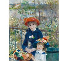 The Two Sisters, On the Terrace by Renoir  Photographic Print