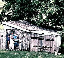 """The Bowling Shack""... prints and products by © Bob Hall"