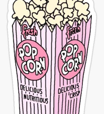 Popcorn Sticker Sticker