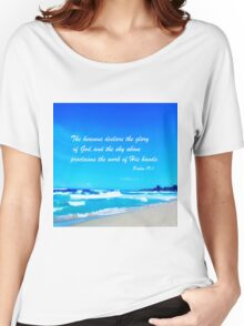 Psalm 19:1 Women's Relaxed Fit T-Shirt