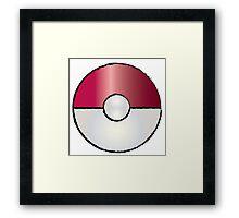 Pokemon Go Ball Framed Print