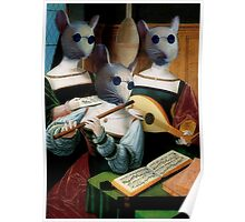 Blind Mice Times Three Poster