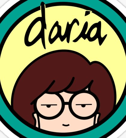 Daria Sticker Sticker