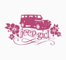 Girly Jeep Tee by jeepstyletees