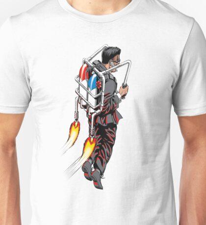 Jetpack Man Unisex T-Shirt