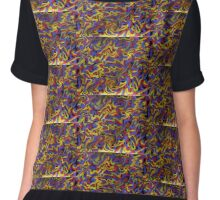 Primary- Abstract Chiffon Top
