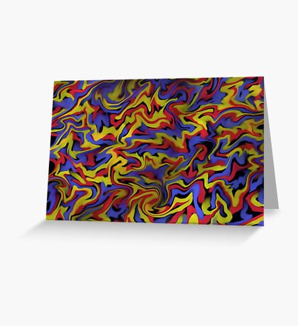 Primary- Abstract Greeting Card