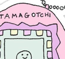 Tamagotchi Sticker Sticker