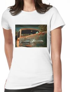 Abandoned 1952 Ford F-1 truck Womens Fitted T-Shirt