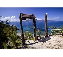 Doorway to Paradise - Travel Photography Photographic Print