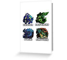 Kaiju Cuties Greeting Card