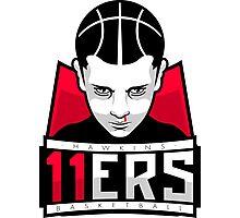 Hawkins Eleveners Basketball Photographic Print