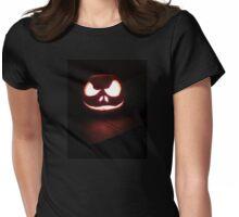 Halloween Pumpkin Womens Fitted T-Shirt