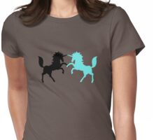 Minty Duel-i-Corns Womens Fitted T-Shirt