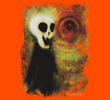 Halloween Skull Dude Kids Tee