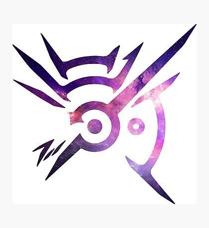 Dishonored Symbol (Galaxy) Photographic Print