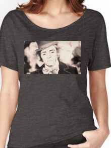 Cheer Up Charlie, Willy Wonka / Charles Manson Women's Relaxed Fit T-Shirt