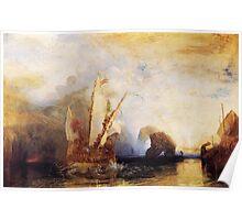 Ulysses Deriding Polyphemus (1829) by JMW Turner Poster