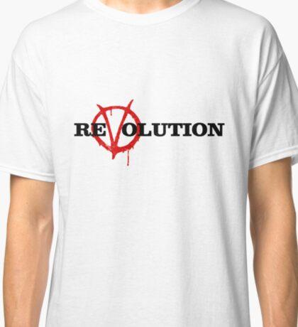 ReVolution V for Vendetta Classic T-Shirt