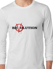 ReVolution V for Vendetta Long Sleeve T-Shirt
