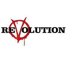 ReVolution V for Vendetta Photographic Print