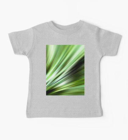 Green Bloom Baby Tee