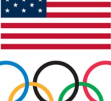 Team USA Olympic Sticker Sticker