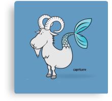funny zodiac/capricorn Canvas Print