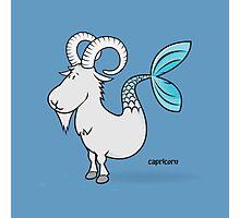 funny zodiac/capricorn Photographic Print