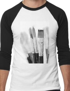 BRUSH Men's Baseball ¾ T-Shirt