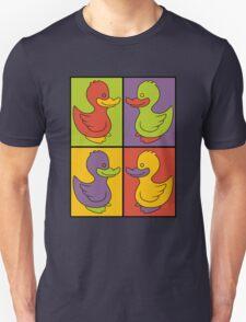 Pop Art Love Ducks Unisex T-Shirt