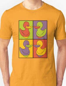 Pop Art Love Ducks Unisex T-Shirt