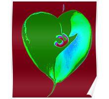 Coeur d'Arum à croquer Poster