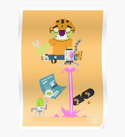 Lazer Arm Poster
