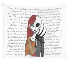 Nightmare Before Christmas Wall Tapestry